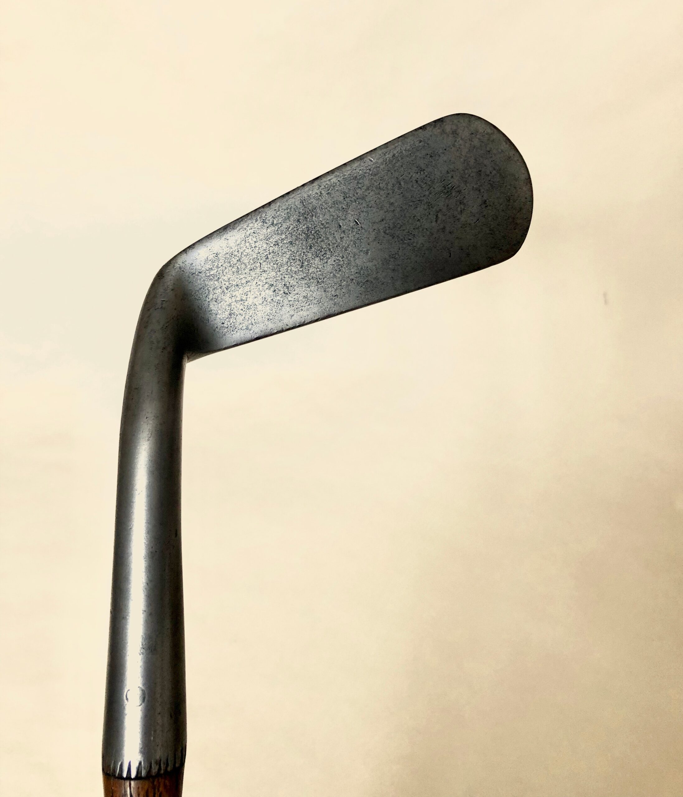 Patent 'Wry-neck' Putter by Willie Park Jr.