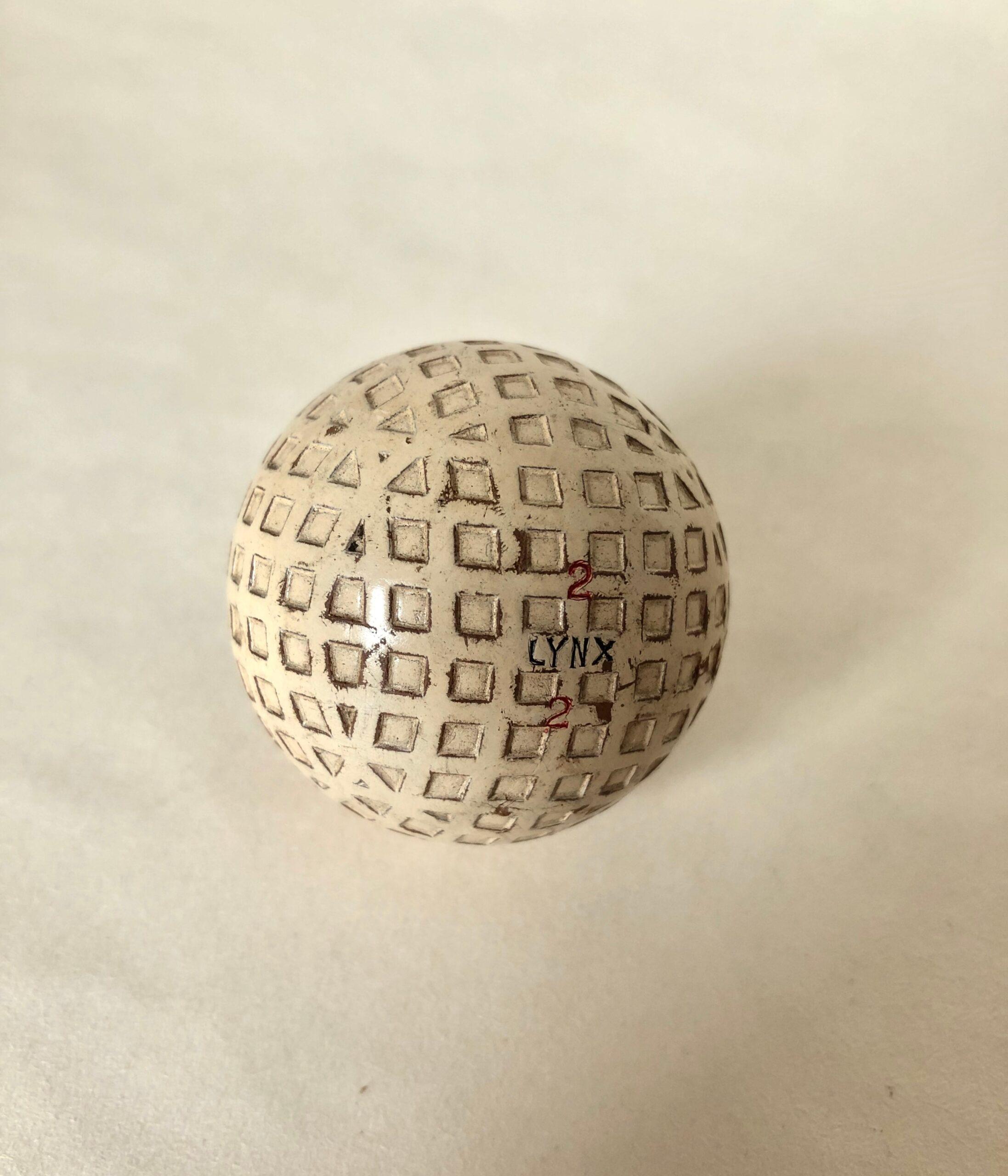 Silvertown 'Lynx' Golf Ball
