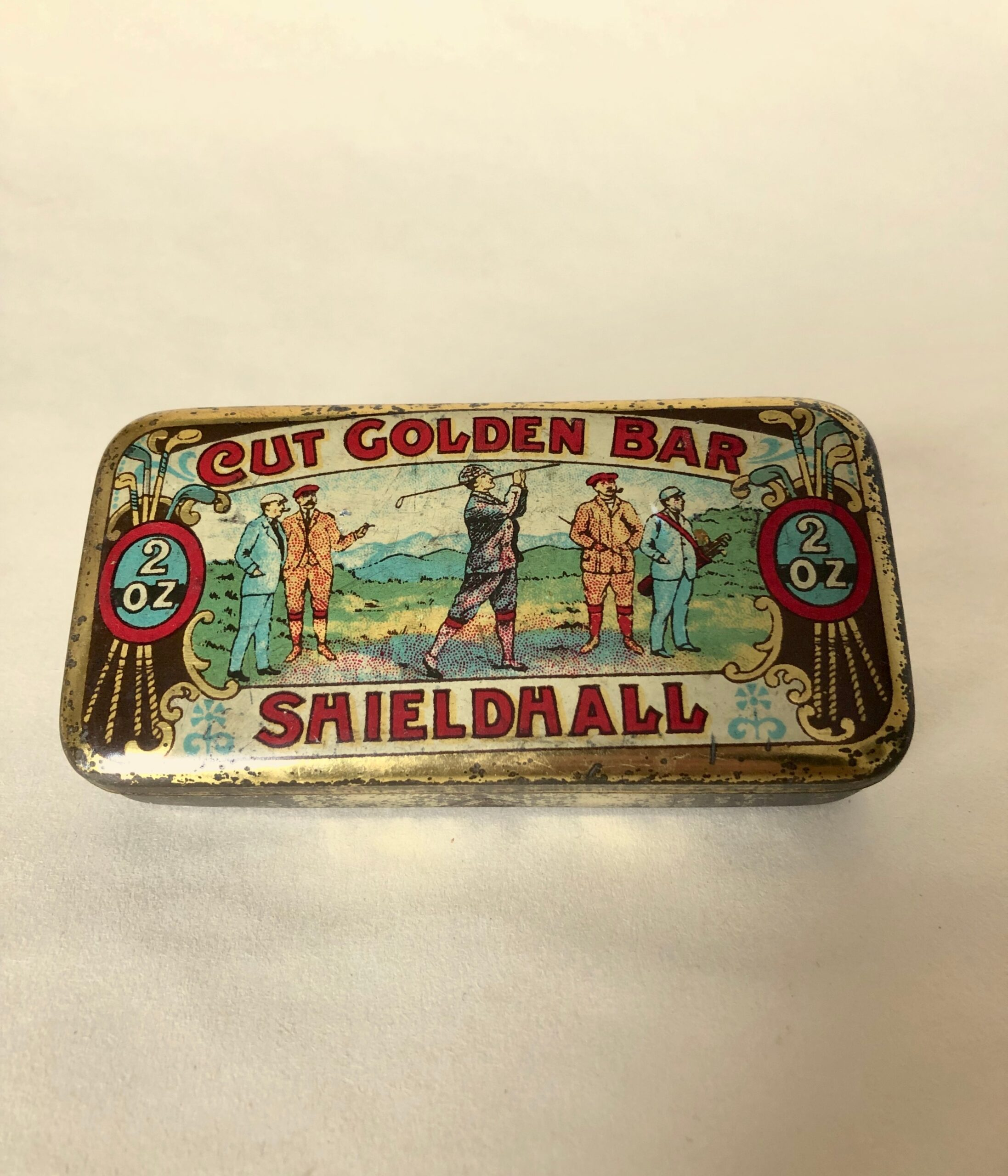 Shieldhall Golf Tobacco Tin