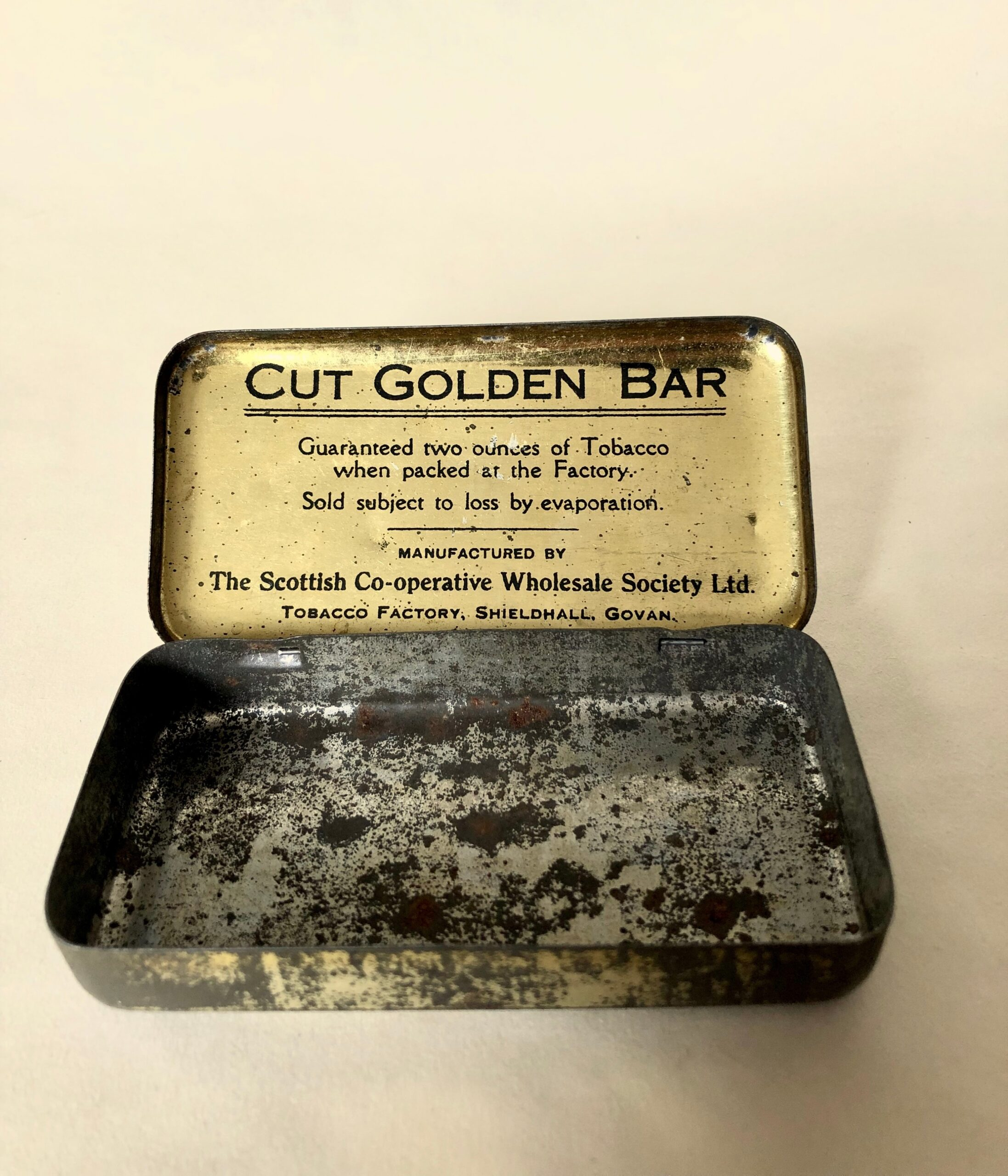 Shieldhall Golf Tobacco Tin