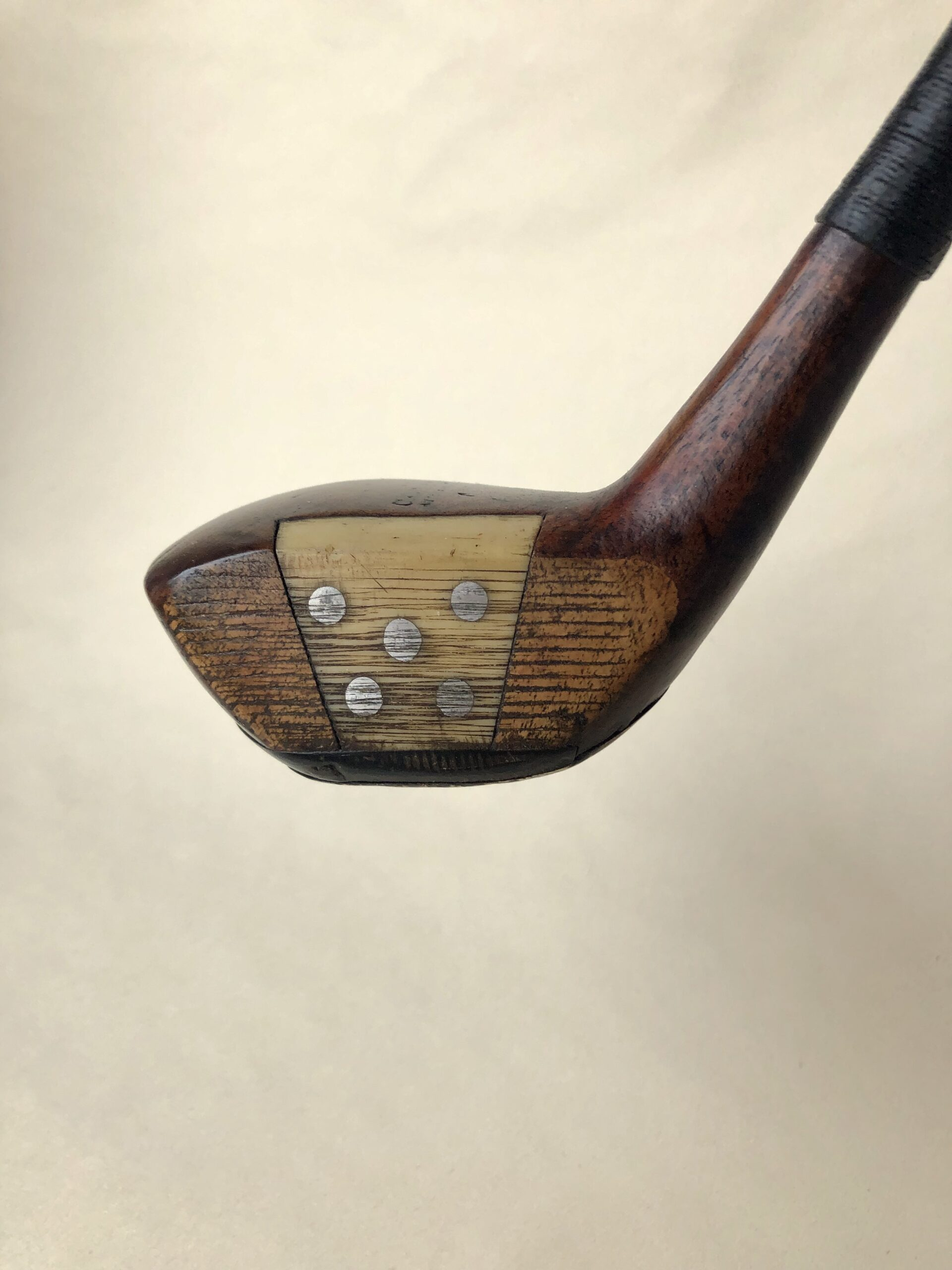 Cann & Taylor 'Autograph' Brassie with fancy face insert