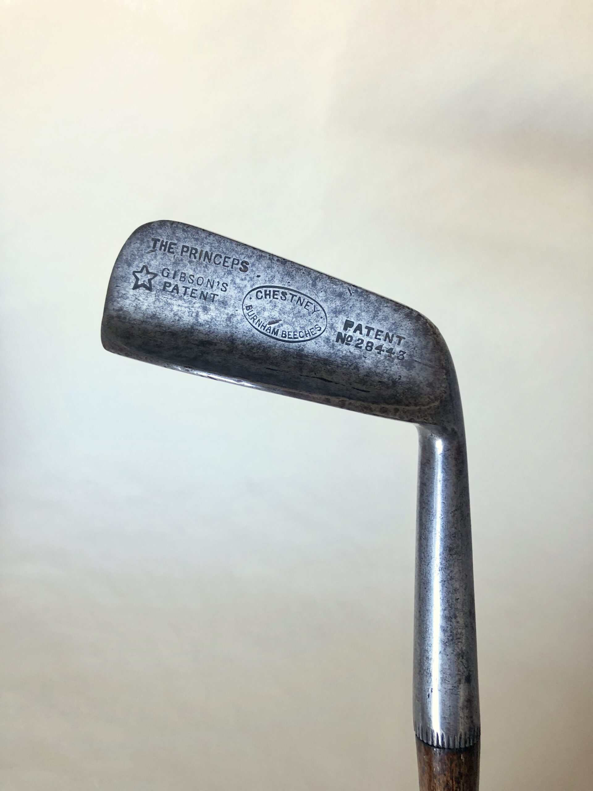 W. Gibson Patent 'The Princeps' Putter c.1910